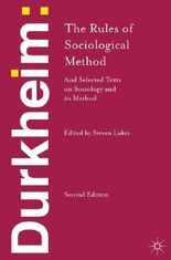 DURKHEIM THE RULES OF SOCIOLOGICAL METHO