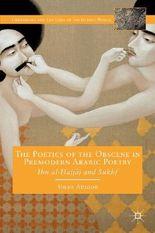 The Poetics of the Obscene in Pre-Modern Arabic Poetry