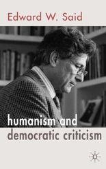 Humanism and Democratic Criticism