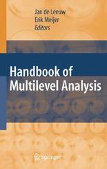 Handbook of Multilevel Analysis