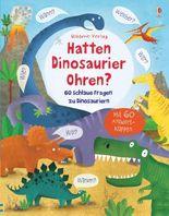 Hatten Dinosaurier Ohren?