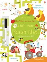 Mein Wisch-und-weg-Buch: Auf dem Bauernhof