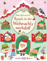 Mein Stickerbuch: Besuch in der Weihnachtswerkstatt (Jubiläumsausgabe)