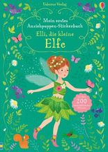 Mein erstes Anziehpuppen-Stickerbuch: Elli, die kleine Elfe