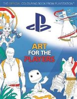 Art for the Players: The official colouring book from PlayStation