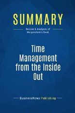 Summary: Time Management from the Inside Out: Review and Analysis of Morgenstern's Book