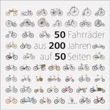 50 Fahrräder aus 200 Jahren auf 50 Seiten