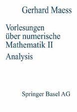 Vorlesungenüber numerische Mathematik