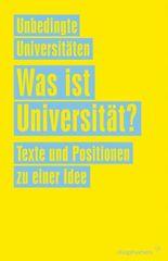 Was ist Universität?
