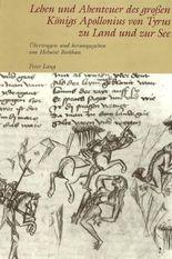 Leben und Abenteuer des grossen Königs Apollonius von Tyrus zu Land und zur See