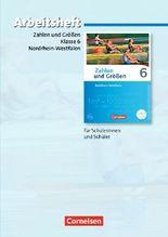 Zahlen und Größen - Nordrhein-Westfalen Kernlehrpläne - Ausgabe 2013 / 6. Schuljahr - Arbeitsheft mit eingelegten Lösungen