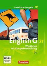 English G 21 - Erweiterte Ausgabe D / Band 5: 9. Schuljahr - Workbook mit CD-Extra (CD-ROM und CD auf einem Datenträger)