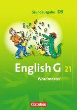 English G 21 - Grundausgabe D / Band 3: 7. Schuljahr - Wordmaster