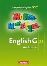 English G 21 - Erweiterte Ausgabe D / Band 5/6: 9./10. Schuljahr - Wordmaster