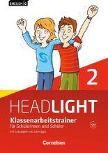 English G Headlight - Allgemeine Ausgabe / Band 2: 6. Schuljahr - Klassenarbeitstrainer mit Lösungen und Audio-CD