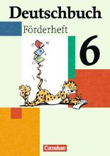 Deutschbuch - Fördermaterial - zu allen Ausgaben / 6. Schuljahr - Förderheft