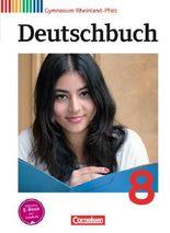 Deutschbuch - Gymnasium Rheinland-Pfalz / 8. Schuljahr - Schülerbuch