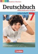 Deutschbuch - Differenzierende Ausgabe Nordrhein-Westfalen / 7. Schuljahr - Arbeitsheft mit Lösungen