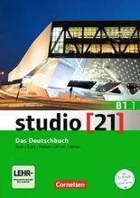 studio [21] - Grundstufe B1: Teilband 01. Das Deutschbuch (Kurs- undÜbungsbuch mit DVD-ROM)