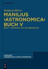 Manilius Astronomica Buch V