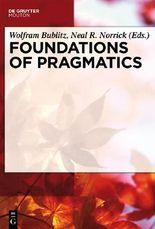 Foundations of Pragmatics