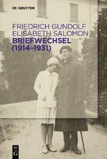Briefwechsel (1914–1931)