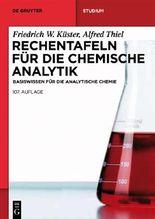 Rechentafeln Fur Die Chemische Analytik