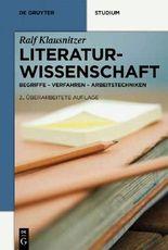 Literatur-Wissenschaft