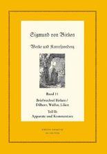 Sigmund von Birken: Werke und Korrespondenz