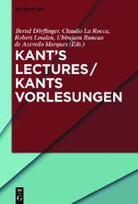 Kant's Lectures