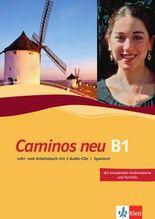Caminos / Lehr- und Arbeitsbuch mit 2 Audio-CDs