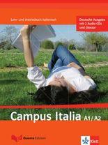 Campus italia / Lehr- und Arbeitsbuch mit 2 Audio-CDs (A1/A2)