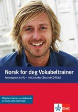 Norsk for deg (A1-A2) / Vokabeltrainer mit 2 Audio-CDs und 1 CD-ROM