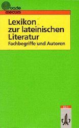 Lexikon zur lateinischen Literatur
