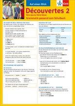 Auf einen Blick: Découvertes Série jaune / Série bleue