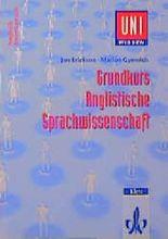 Grundkurs Anglistische Sprachwissenschaft