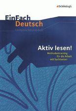 EinFach Deutsch - Unterrichtsprojekte / EinFach Deutsch Unterrichtsmodelle
