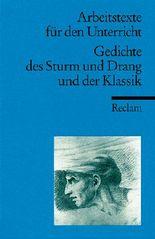 Gedichte des Sturm und Drang und der Klassik