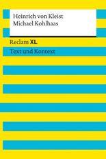 Michael Kohlhaas: Reclam XL – Text und Kontext