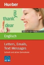 Taschentrainer Englisch – Letters, Emails, Text Messages