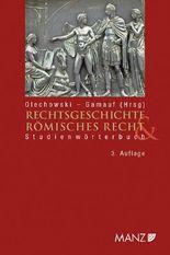 Rechtsgeschichte & Römisches Recht (f. Österreich)