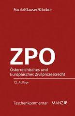Österreichisches und Europäisches Zivilprozessrecht - ZPO