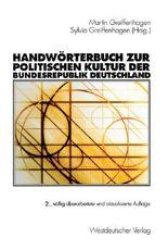 Handwörterbuch zur politischen Kultur der Bundesrepublik Deutschland