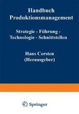Handbuch Produktionsmanagement