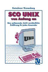 SCO UNIX von Anfang an