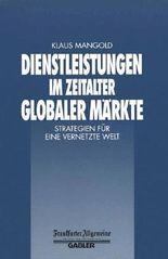 Dienstleistungen im Zeitalter Globaler Märkte