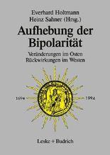 Aufhebung der Bipolarität -