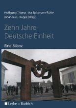 Zehn Jahre Deutsche Einheit