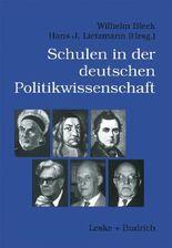 Schulen der deutschen Politikwissenschaft