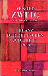 Bilanz der deutschen Judenheit 1933